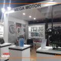 غرضه مگاموتور در نمایشگاه قطعات خودرو