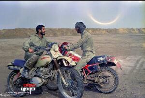 موتورسیکلت ها و خودروهای جنگ تحمیلی