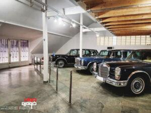 موزه خودروهای تاریخی کاخ سعد آباد