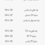 قیمت خودروهای کارکرده 100 تا 150 (2)